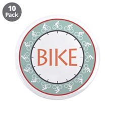 "Bike 3.5"" Button (10 pack)"