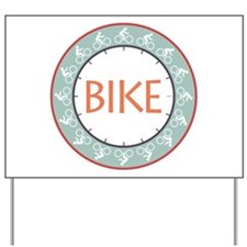 Bike Yard Sign