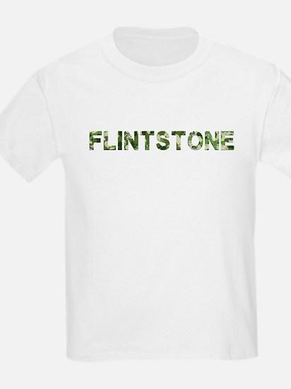 Flintstone, Vintage Camo, T-Shirt