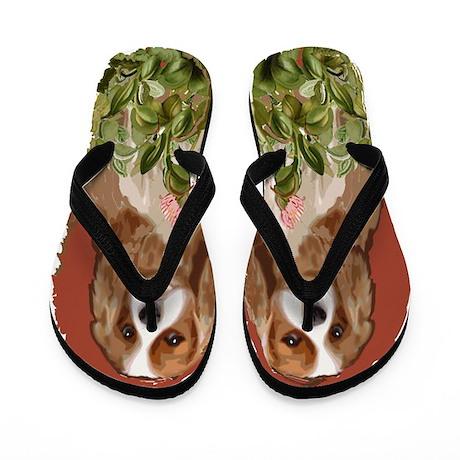 cavalier spaniel Flip Flops