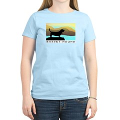 Basset Hound By The Sea T-Shirt