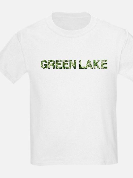 Green Lake, Vintage Camo, T-Shirt