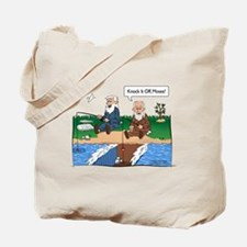 Fishing With Moses Tote Bag