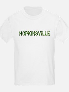 Hopkinsville, Vintage Camo, T-Shirt