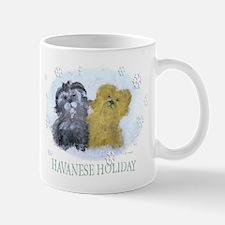 Havanese Holiday Mug