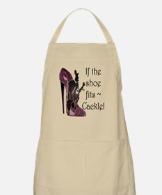 If the shoe fits, Cackle Apron