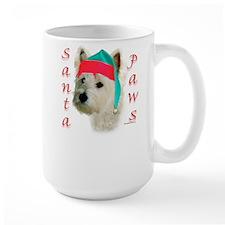 Santa Paws Westie Mug