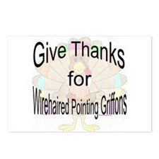 Thanks for Wirehaired Postcards (Package of 8)