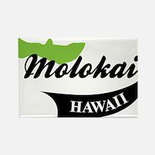 Molokai Hawaii Rectangle Magnet
