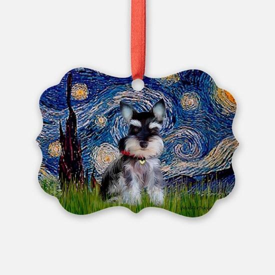 Unique Schnauzer Ornament