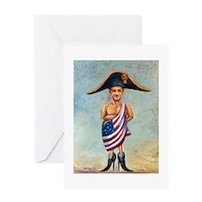 Sarkozy Greeting Card