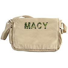 Macy, Vintage Camo, Messenger Bag