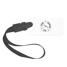 Live Laugh Fly Luggage Tag