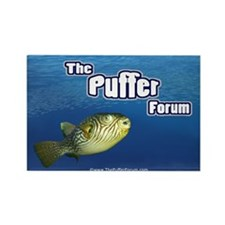The Puffer Forum Rectangle Magnet