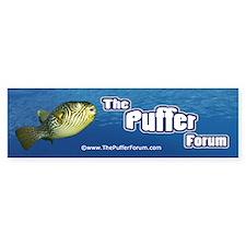 The Puffer Forum Bumper Bumper Sticker
