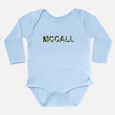 Mccall, Vintage Camo, Long Sleeve Infant Bodysuit
