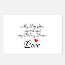 My Daughter,my Angel Postcards (Package of 8)
