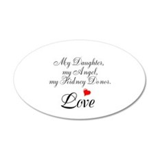 My Daughter,my Angel Wall Decal