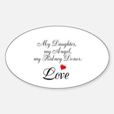 My Daughter,my Angel Decal