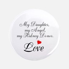 "My Daughter,my Angel 3.5"" Button (100 pack)"