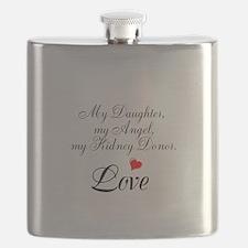 My Daughter,my Angel Flask