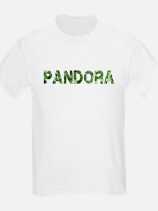 Pandora, Vintage Camo, T-Shirt