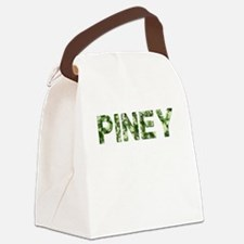 Piney, Vintage Camo, Canvas Lunch Bag