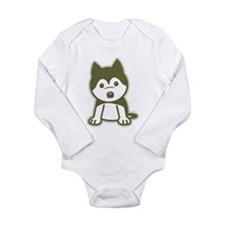 Husky Puppy Body Suit