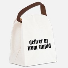 Deliver Us Canvas Lunch Bag
