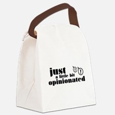 Opinionated Canvas Lunch Bag