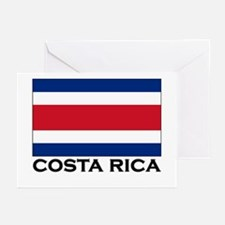 Costa Rica Flag Stuff Greeting Cards (Pk of 10