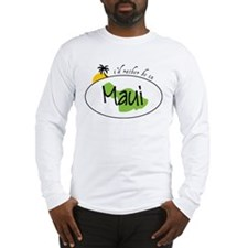 Rather Be In Maui Long Sleeve T-Shirt
