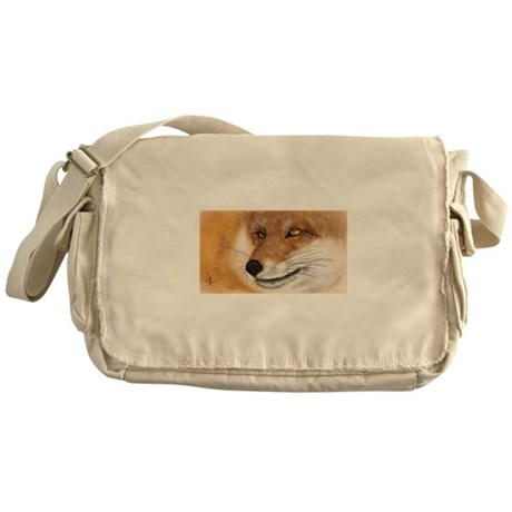 Vulpine Stare Messenger Bag