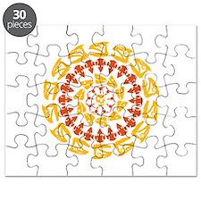 Paleo Kaleidescope Puzzle