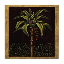 Cute Palms Tile Coaster