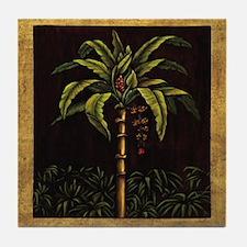 Cute Tropical Tile Coaster