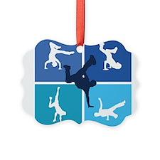 Cute Breakdancing Ornament