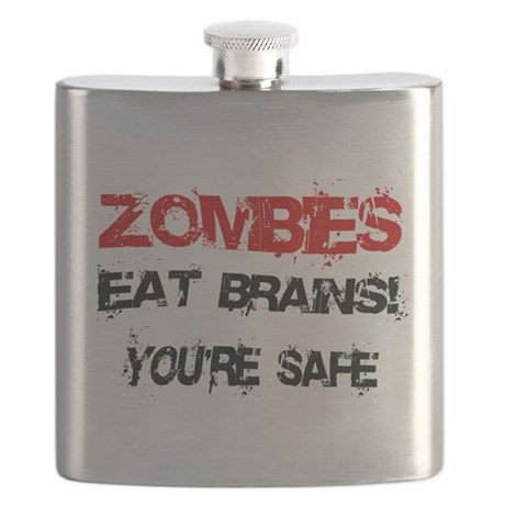 Zombies Eat Brains! Flask