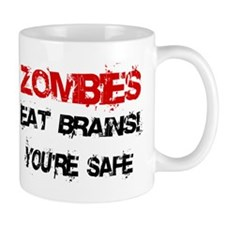 Zombies Eat Brains! Mug