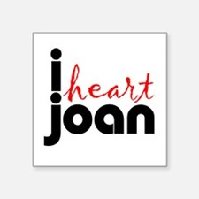 "Joan Square Sticker 3"" x 3"""
