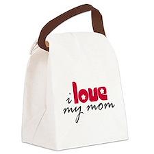 My Mom Canvas Lunch Bag