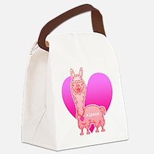 alpaca Canvas Lunch Bag