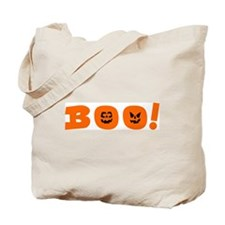 Deluxe BOO! Canvas Trick or Treat Bag, two-sided