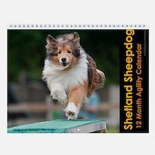 Shetland Sheepdog Wall Calendar