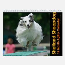 Shetland Sheepdog Wall Calendar II