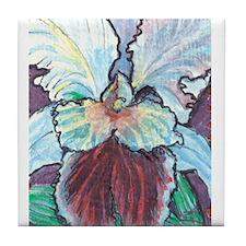 Funny Floral and botanical Tile Coaster