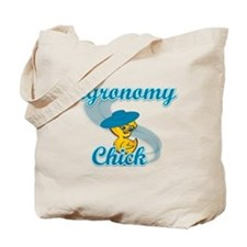 Agronomy Chick #3 Tote Bag
