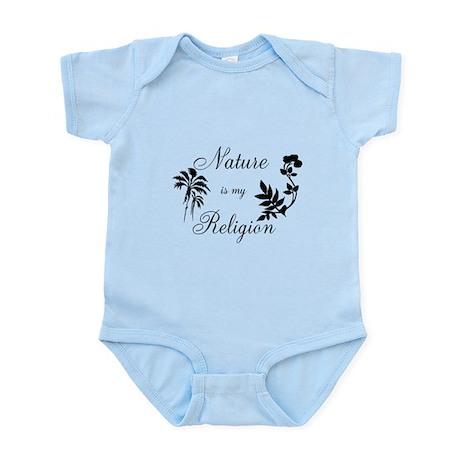 Nature is my religion Infant Bodysuit