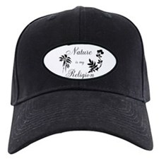 Nature is my religion Baseball Hat