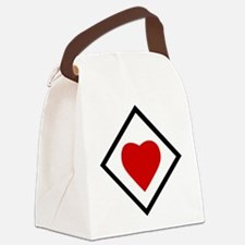 Jagdgeschwader 77 Herz Ass.png Canvas Lunch Bag